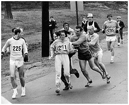 Maratón de Boston. Kathrine Switzer