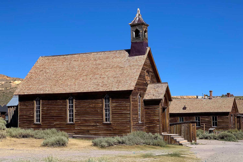 Methodist Church Bodie California