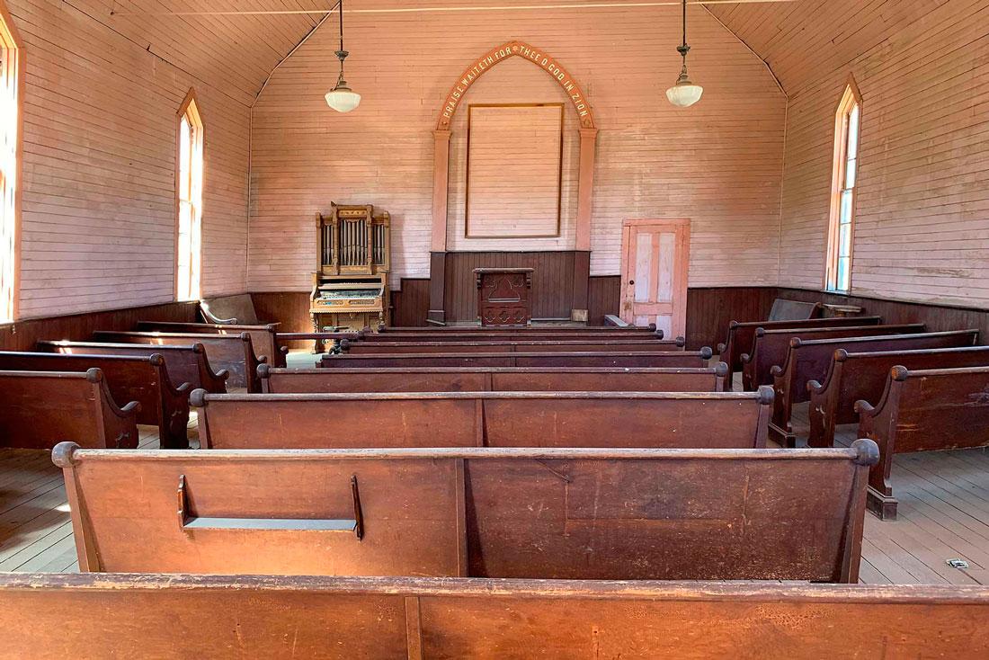 Bodie-California-Methodist-church