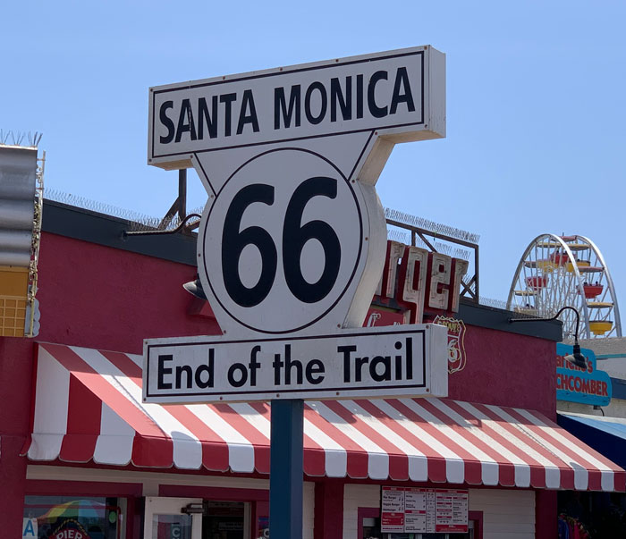 Santa Monica - End of the Trail