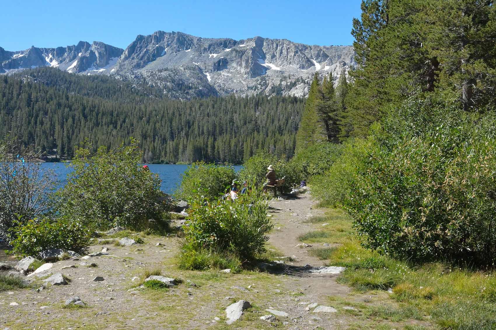 Correr y viajar en mammoth lakes